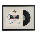 """The Doobie Brothers """"Taking It to the Streets"""" Framed Signed Record, COA"""