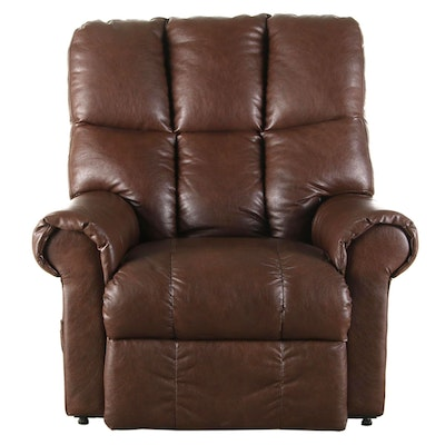Catnapper Leather Power Lift Reclining Armchair