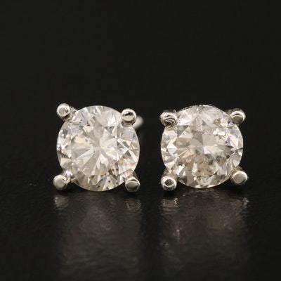 14K 1.88 CTW Diamond Stud Earrings