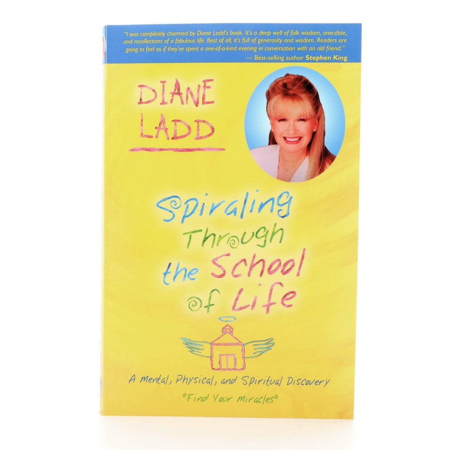 """Signed First Printing """"Spiraling Through Life"""" by Diana Ladd, 2006"""