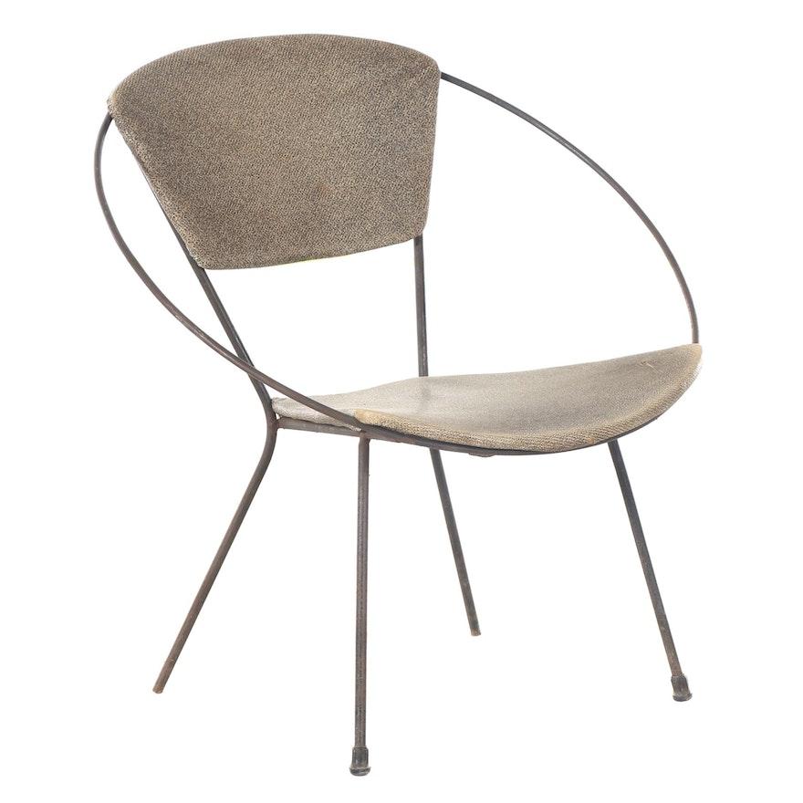 Mid Century Modern Iron Circle Chair
