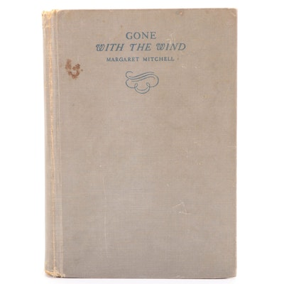 """Early Printing """"Gone with the Wind"""" by Margaret Mitchell, 1937"""