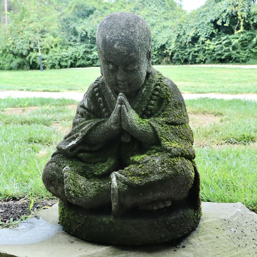 Fiberglass Contemplation Buddha Statue
