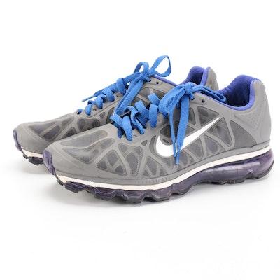 Nike Air Max+ Cool Grey Running Shoes