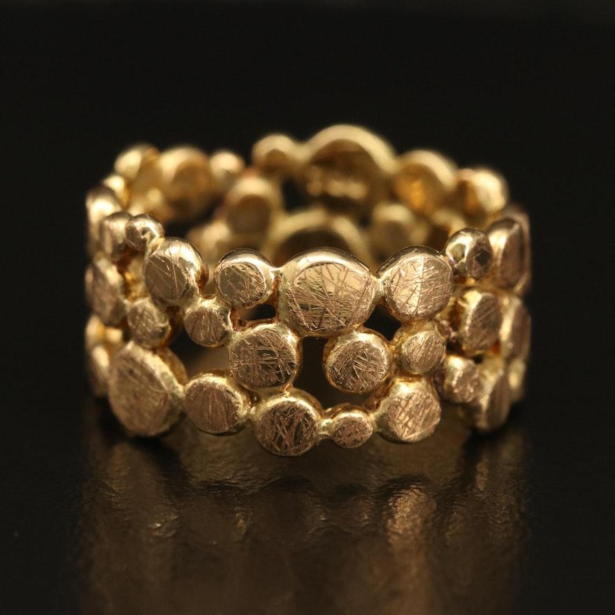 18K Pebble Band Ring