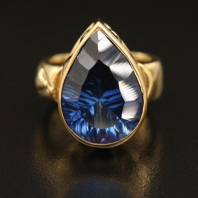 Douglas Elliot 18K Sapphire Ring
