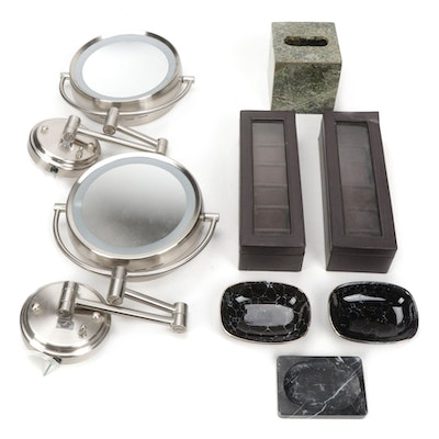Bathroom Accessories and Organizational Boxes