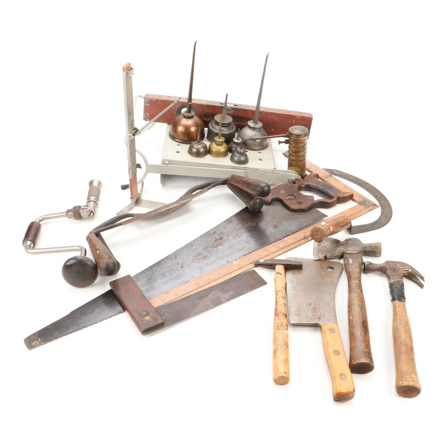 Craftsman, John Speak, Stanley, and Other Hand Tools, Mid-20th Century