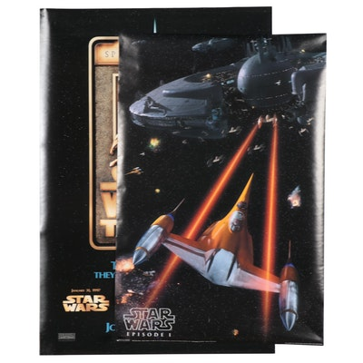"""""""The Star Wars Trilogy"""" Re-release Double-Sided One Sheet Movie Poster and More"""