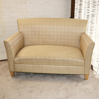 Marquis Seating Flared-Back Loveseat