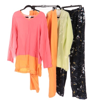Neiman Marcus, Paraphrase, and Other Silk Blouses and Pants