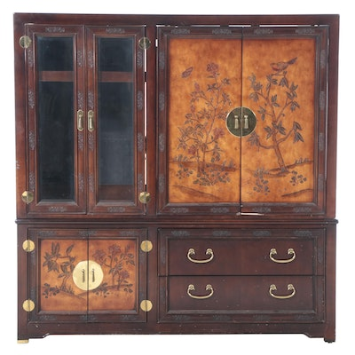 Asian Style Media Cabinet
