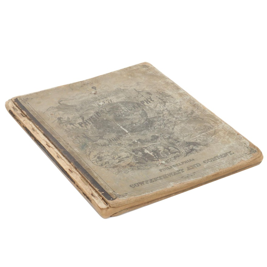 """""""An Elementary Treatise on Physical Geography"""" by D. M. Warren, 1873"""