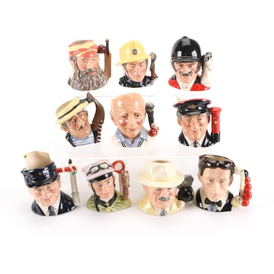 """Royal Doulton """"Journey Through Britain"""" and Other Character Mugs"""