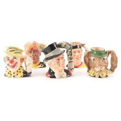 """Royal Doulton """"The March Hare"""" and Other Character Jugs"""