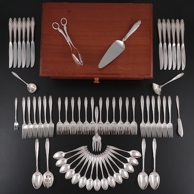 """International Silver """"Prelude"""" Sterling Silver Flatware with Other Utensils"""