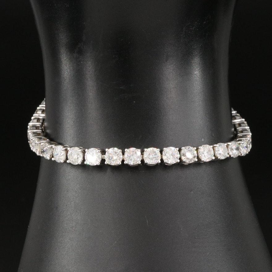 14K 13.54 CTW Diamond Line Bracelet