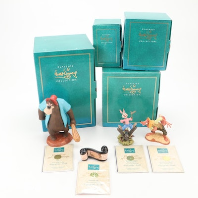 """Walt Disney Classics Collection """"Song of the South"""" Ceramic Figurines"""