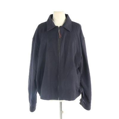 Men's Golden Bear Sportswear Wool and Leather Jacket, New with Merchant Tag