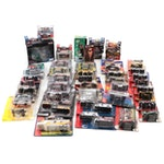 Fleer, Hasbro, and Other Nascar, MLB, and NFL Themed Diecast Cars