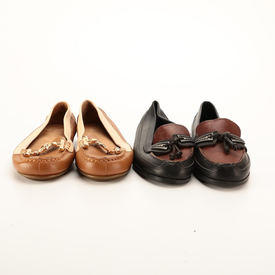 Pappagallo Derio and Aerosoles Nuwlywed Leather Loafers