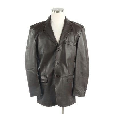 Men's Reed Leather Jacket, New with Merchant Tag