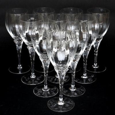 "Gorham ""Augusta"" Crystal Wine Glasses, 1986–1994"