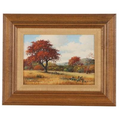 Barbara Cunningham Landscape Oil Painting, 21st Century