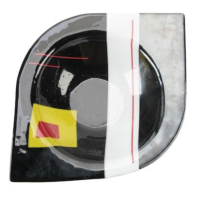 Renato Foti for Trio Design Art Glass Centerpiece Bowl