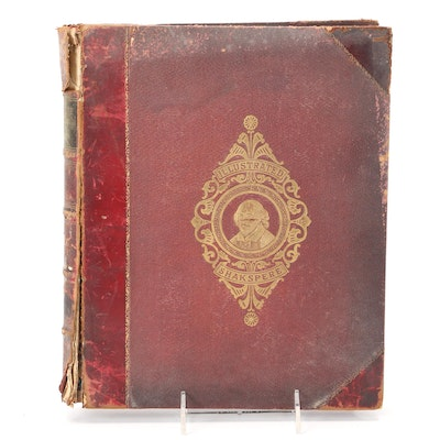 """Illustrated """"The Library of Shakespeare"""" Vol. I, Late 19th Century"""