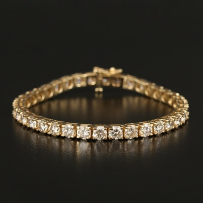 14K 12.00 CTW Diamond Line Bracelet
