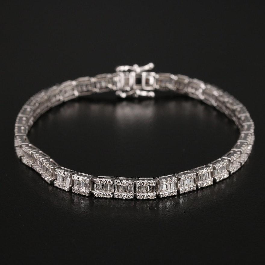 14K 3.33 CTW Diamond Bracelet