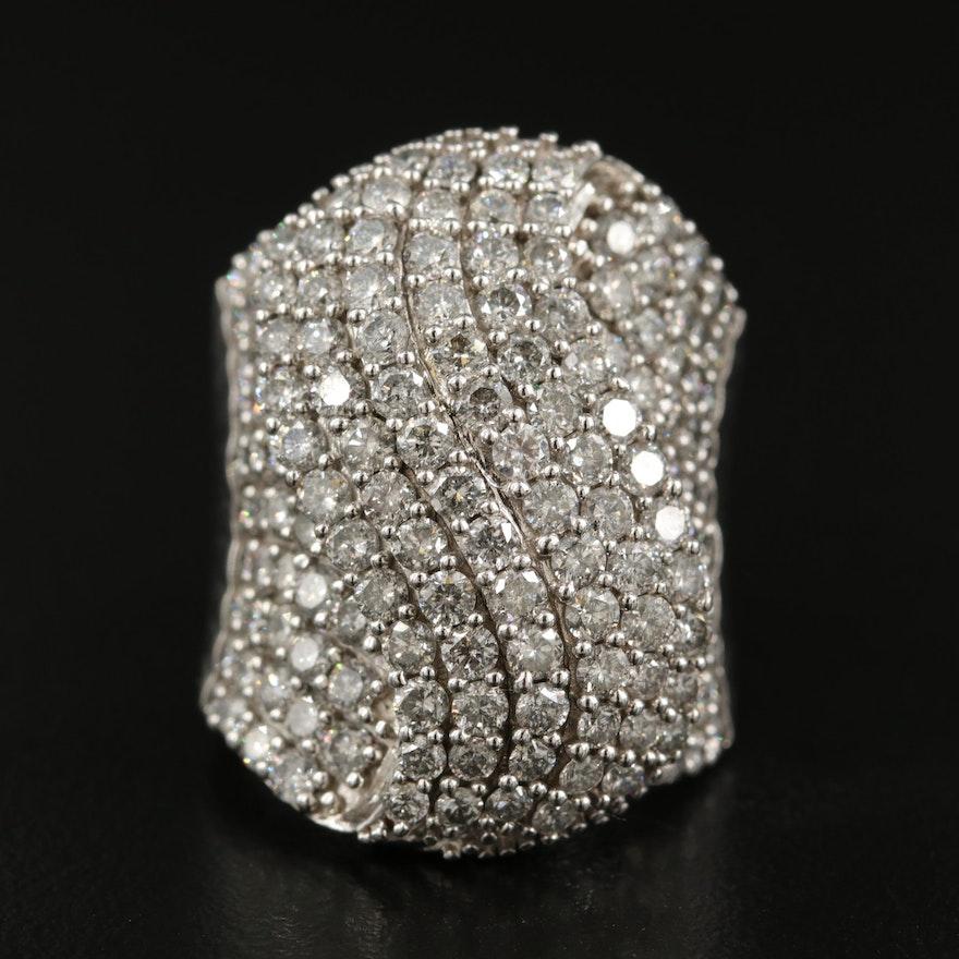 Marchesa 14K 5.00 CTW Diamond Cluster Ring