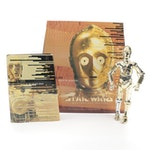 """Limited Edition Star Wars C-3P0 """"Tales of the Golden Droid"""" Set, 1999"""