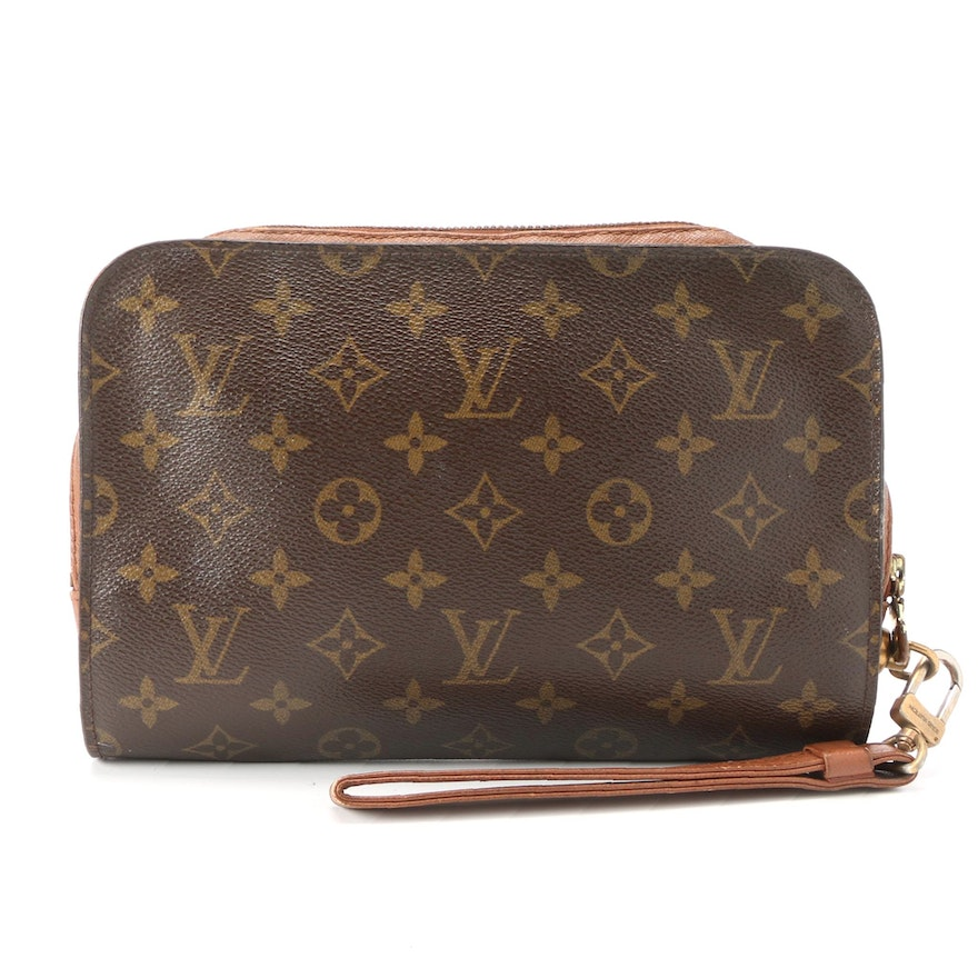 Louis Vuitton Pochette Orsay in Monogram Canvas and Leather