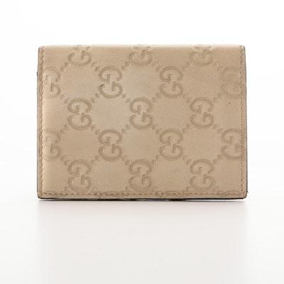 Gucci Card Case in Guccissima Leather