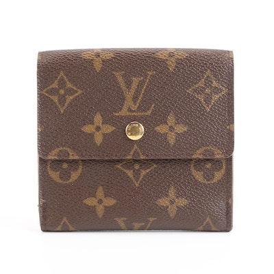 Louis Vuitton Porte-Monnaie Billets Cartes Crédit Wallet in Monogram Canvas