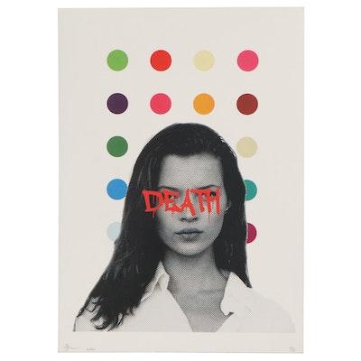 Death NYC Pop Art Offset Lithograph, 2020