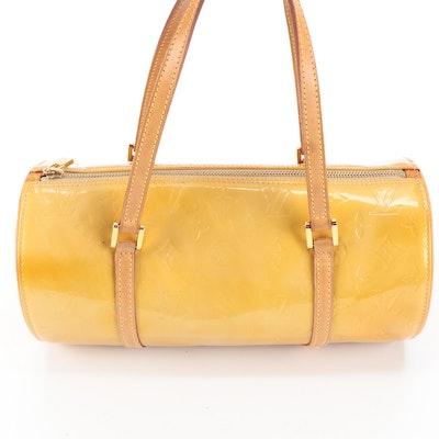 Louis Vuitton Papillon Handbag in Monogram Vernis