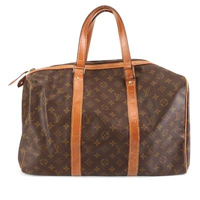 Louis Vuitton Sac Souple 45 Travel Bag in Monogram Canvas