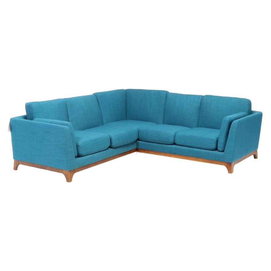 Article Upholstered Two-Piece Sectional Sofa