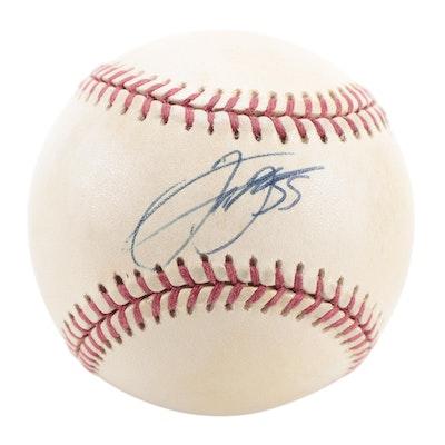 Frank Thomas Signed Rawlings American League Baseball, COA