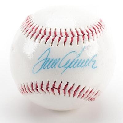 Tom Seaver Signed Dunlop Baseball, COA