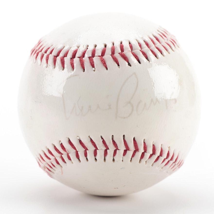 Ernie Banks Signed Dunlop Baseball, COA