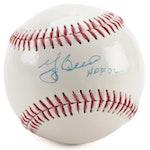"""Yogi Berra Signed """"HOF 72"""" Dunlop Baseball, COA"""
