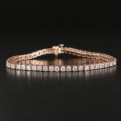 14K 5.00 CTW Diamond Line Bracelet