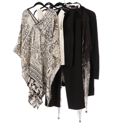 Chico's, Zonda Nellis, Barefoot Dreams, Pants, Poncho, Camisole, and Others