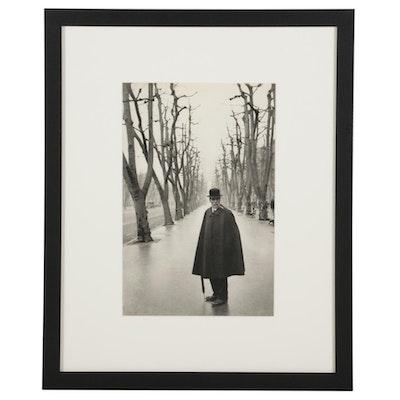 "Henri Cartier-Bresson Candid Portrait Rotogravure From ""The Decisive Moment"""