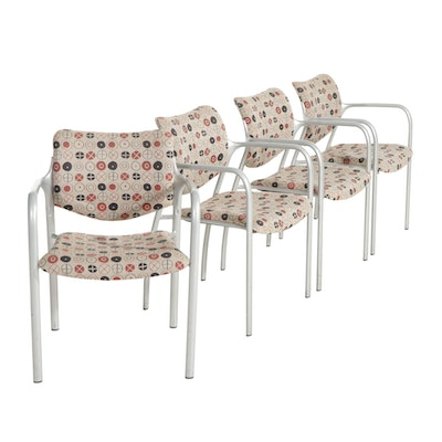 """Four Herman Miller """"Aside"""" Stackable Side Chairs, 2002"""