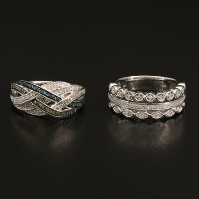 Sterling Diamond Crossover and Multi-Row Rings